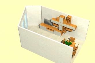 soggiorno crans - render